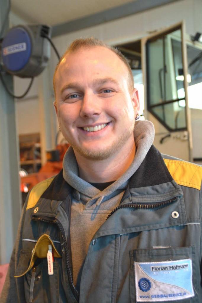 Matthias Brand, Landmaschinenmechanikermeister