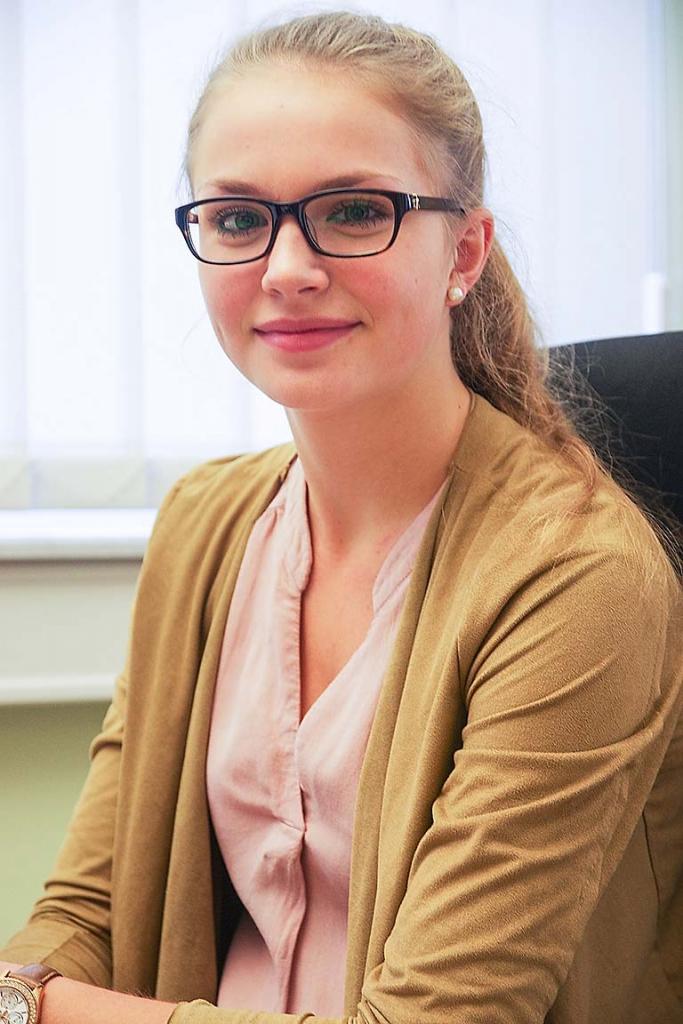 Milena Bauer, Azubi, Kauffrau für Büromanagement