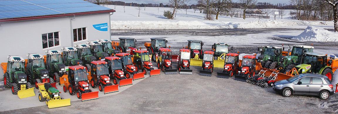 GPS-gestützer Fuhrpark für den Winterdienst