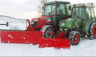Winterdienst durch die Florian Hofmann GmbH